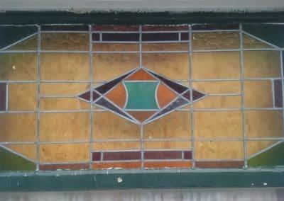 Glas-in-lood renovatie